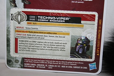 G.I. Joe: 30 for 30 - Techno-Viper: Cobra Engineer