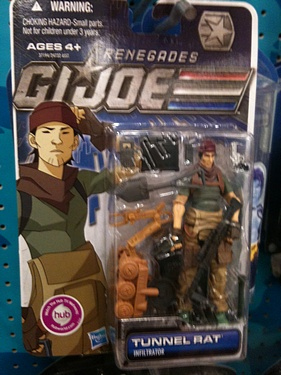 Transformers G.I. Joe 30 for 30 (2012) - Tunnel Rat: Infiltrator