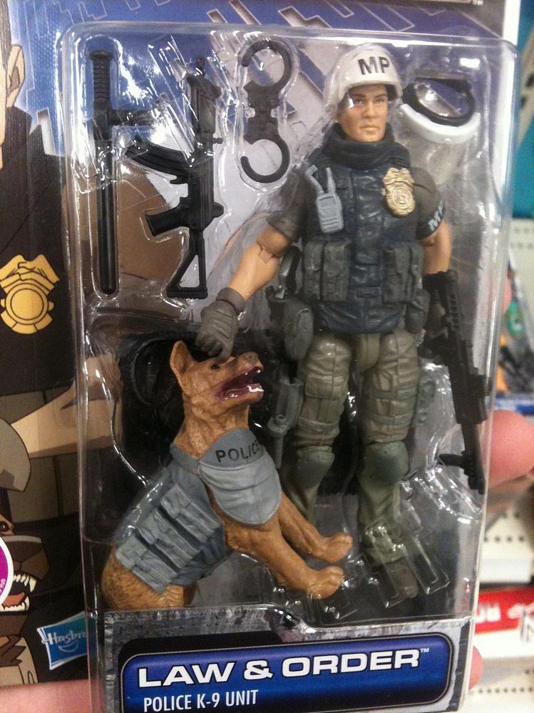 G I Joe 30 For 30 2011 Law Amp Order Police K 9 Unit