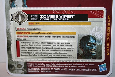 G.I. Joe: 30 for 30 - Zombie-Viper: Cobra Trooper