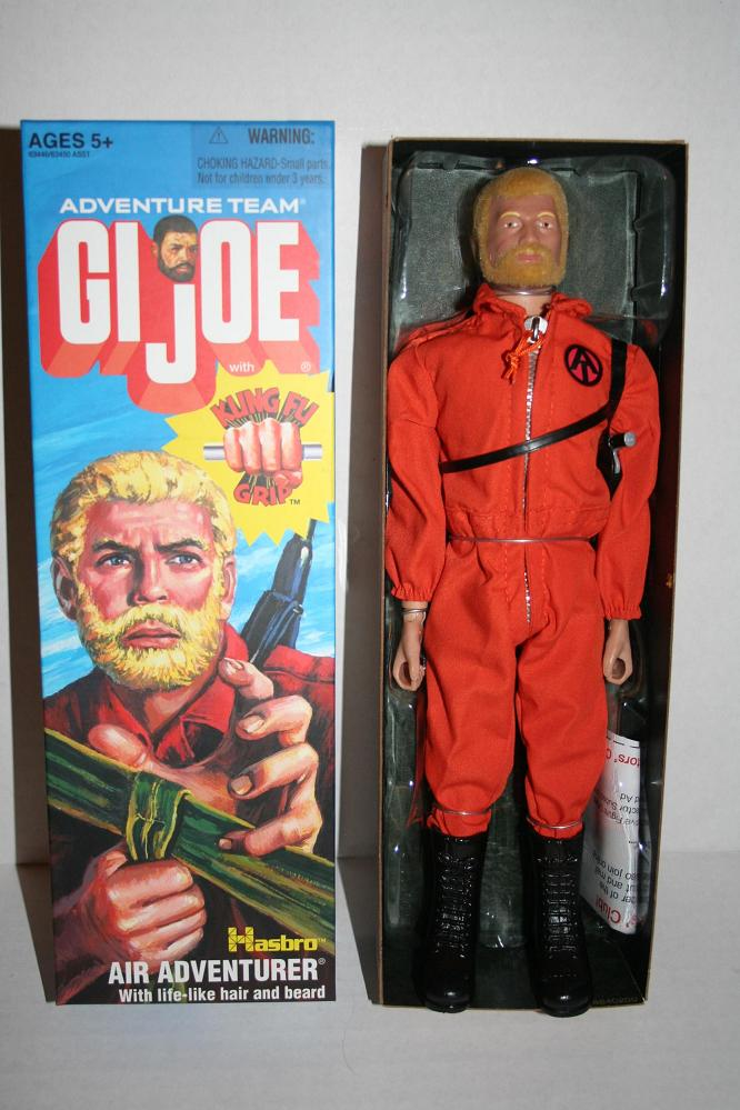 Gi Joe Kung Fu Grip Air Adventurer Parry Game Preserve