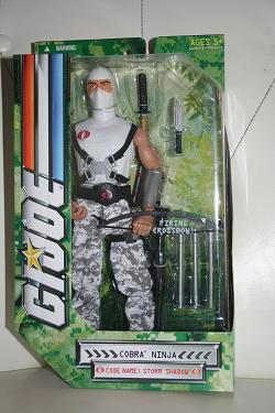 "G.I. Joe Modern Era - 12"" Storm Shadow"