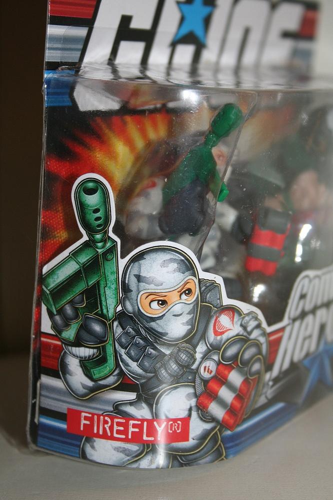 Toys > GI Joe > Modern Era > Combat Heroes > Bazooka vs. Firefly