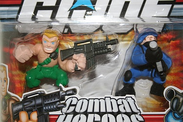 G.I. Joe Modern Era - Duke vs. Cobra Trooper Combat Heroes