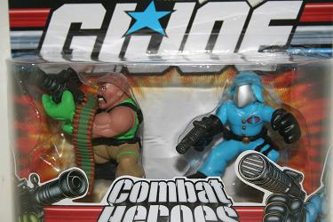 Combat Heroes - Roadblock and Cobra Commander