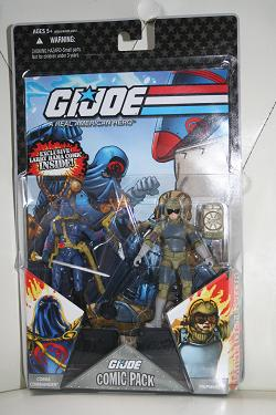 G.I. Joe Comic Pack #9, Cobra Commander vs. Tripwire