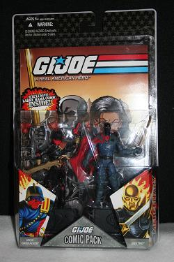 GI Joe Comic Packs - Destro Black Mask Variant