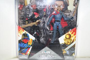 G.I. Joe Comic Packs