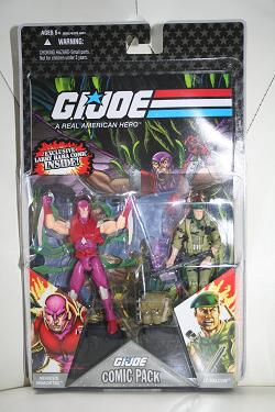 GI Joe Comic Packs - Nemesis Immortal vs. Lt. Falcon