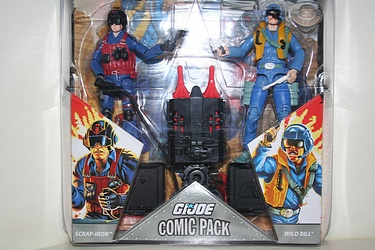 G.I. Joe - Comic 2-pack: Scrap-Iron vs. Wild Bill