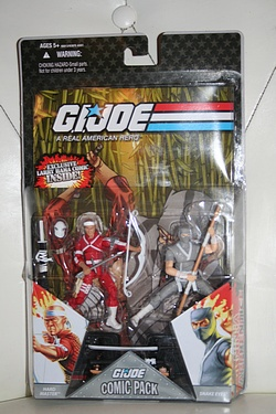 G.I. Joe Comic 2-pack - Snake Eyes and Hard Master