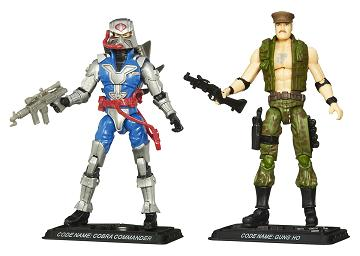 Hasbro - GI Joe Comic 2-Packs Wave 7, Cobra Commander vs. Gung Ho