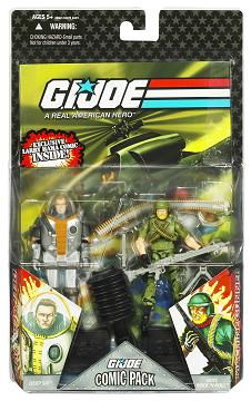 Hasbro - GI Joe Comic 2-Packs Wave 7, Deep Six and Rock N Roll