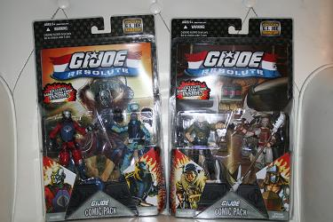 G.I. Joe Modern Era - Wave 8 Resolute Comic Packs