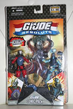 G.I. Joe Modern Era - Resolute Comic Pack Destro vs. Shockblast