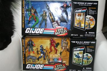 GI Joe DVD Battle Packs
