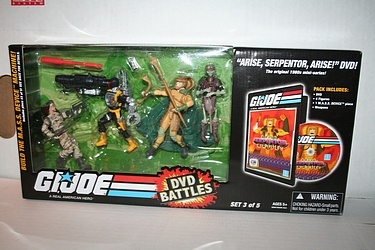 G.I. Joe DVD Pack - Arise, Serpentor, Arise!