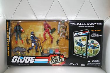 GI Joe DVD Battles - The M.A.S.S. Device