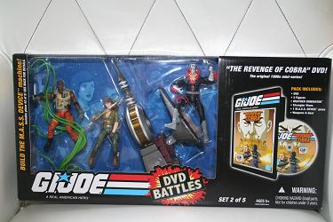 GI Joe DVD Battles - The Revenge of Cobra