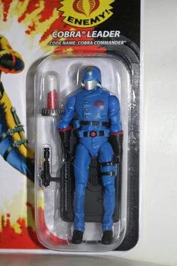 GI Joe Modern Era Cobra Commander with MASS Device crystals