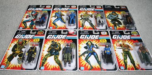 GI Joe Modern Era Wave 1