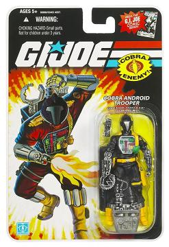 Hasbro - GI Joe Single Figures, Wave 11, Cobra BAT