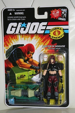 G.I. Joe Modern Era - Zartan with Chameleon