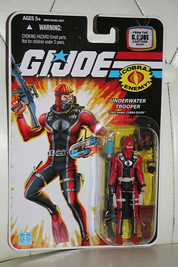 G.I. Joe Modern Era: Cobra Diver