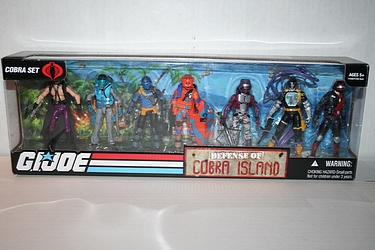 G.I. Joe - Defense of Cobra Island 7-Pack