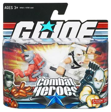 Hasbro - Barbecue vs. Storm Shadow Combat Heroes