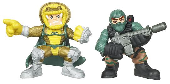Hasbro - Beachhead vs. Serpentor Combat Heroes