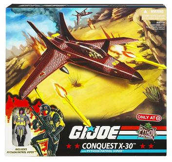 G.I. Joe Modern Era - Target Exclusive Conquest X-30 Python Patrol