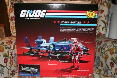 GI Joe Target Exclusive Cobra Rattler