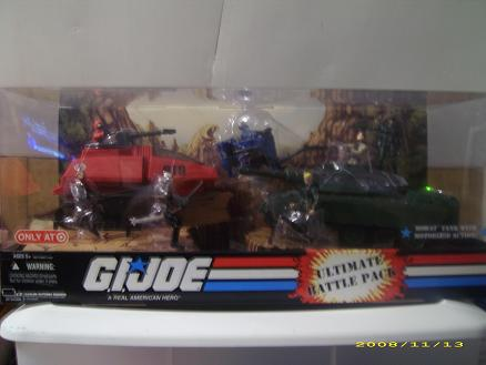 G.I. Joe Target Exclusive Ultimate Battle Pack