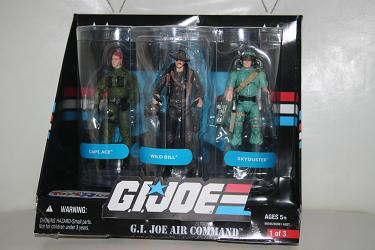 G.I. Joe Modern Era - Air Command 3-Pack
