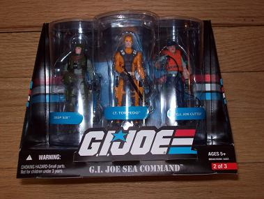 GI Joe Toys R Us Exclusives