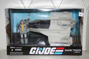 G.I. Joe Modern Era - Sharc Tooth with Deep Six