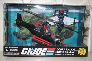 GI Joe Modern Era - Cobra F.A.N.G. and C.L.A.W set