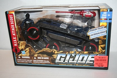 G.I. Joe - Pursuit of Cobra - H.I.S.S. Attack Scout