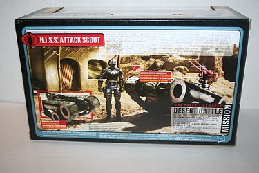 G.I. Joe: Pursuit of Cobra - H.I.S.S. Attack Scout