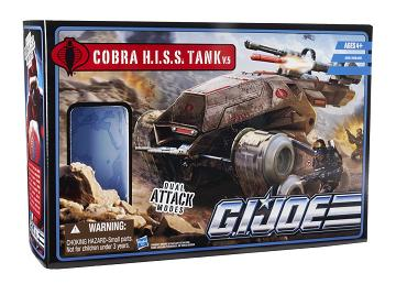 G.I. Joe: Pursuit of Cobra - HISS Tank with HISS Driver