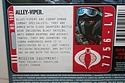 G.I. Joe: Pursuit of Cobra - Cobra Alley-Viper