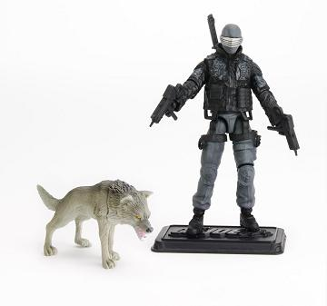 G.I. Joe: Pursuit of Cobra - Snake Eyes with Timber