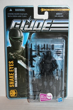 G.I. Joe - Pursuit of Cobra, Snake Eyes Wave 3