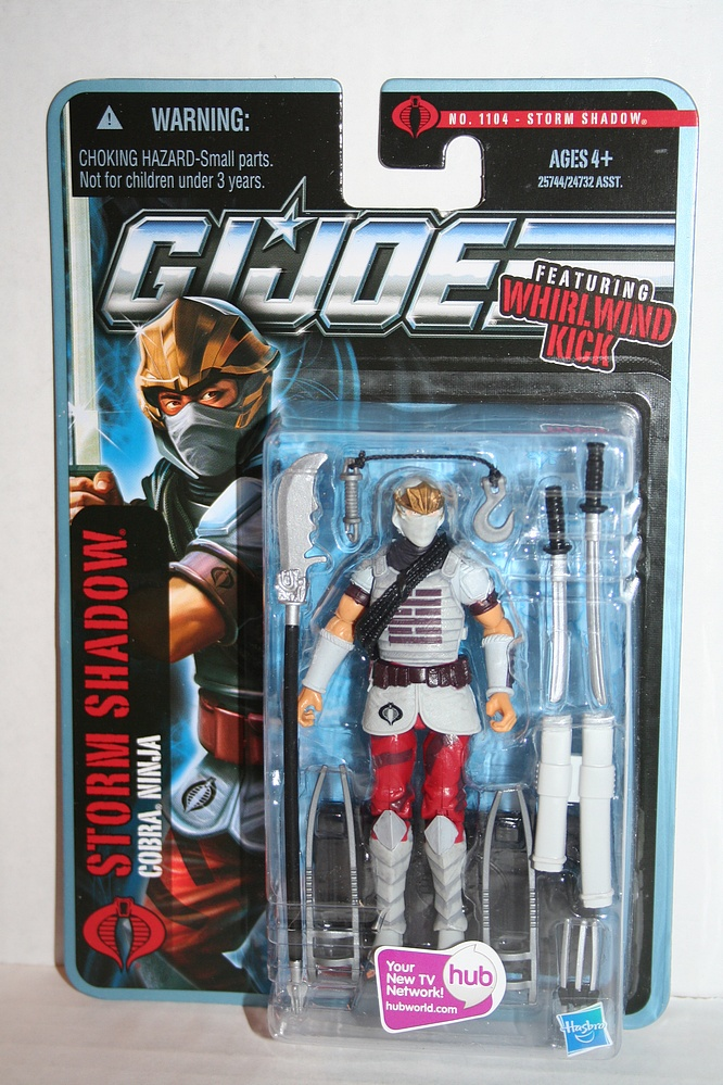 G I  Joe: Pursuit of Cobra - Storm Shadow - Cobra Ninja - Parry Game