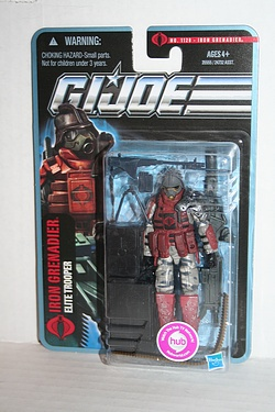 G.I. Joe: Pursuit of Cobra - Iron Grenadier - Elite Trooper