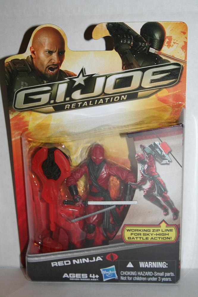 Red Ninja Figure GI Joe 98496 G.I Joe Retaliation