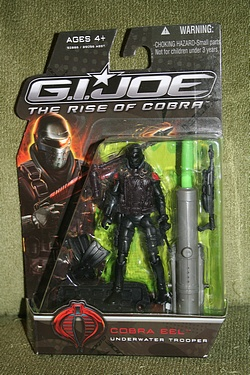 G.I. Joe Rise of Cobra - Cobra Eel