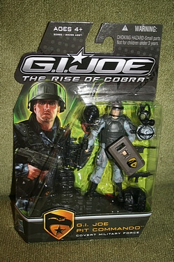 G.I. Joe Rise of Cobra - Pit Commando