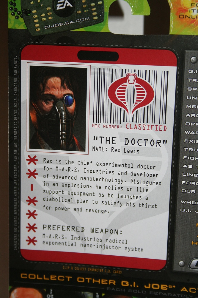 The doctor rise of cobra - photo#23
